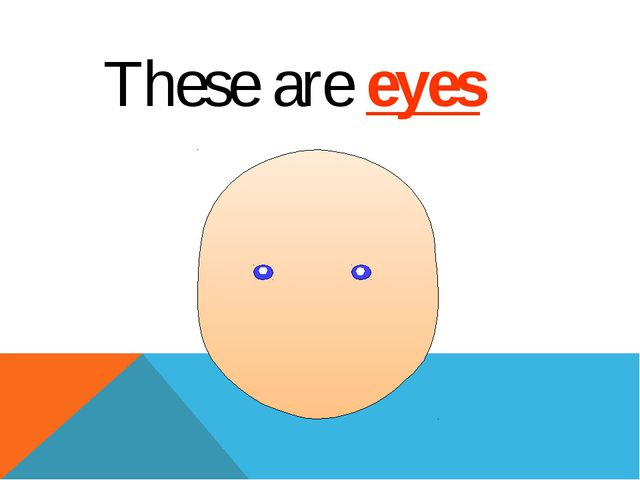 These are eyes