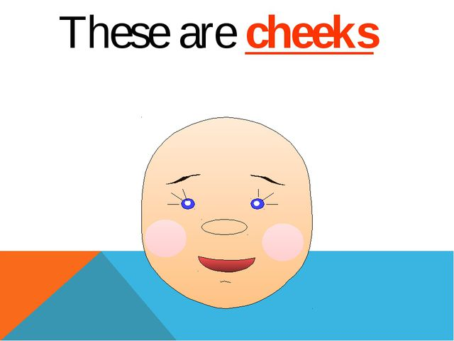 These are cheeks