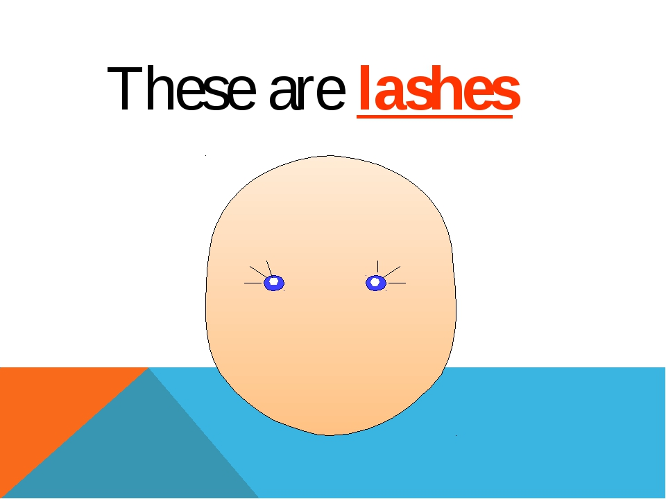 These are lashes