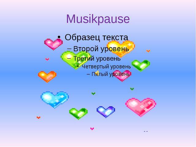 Musikpause