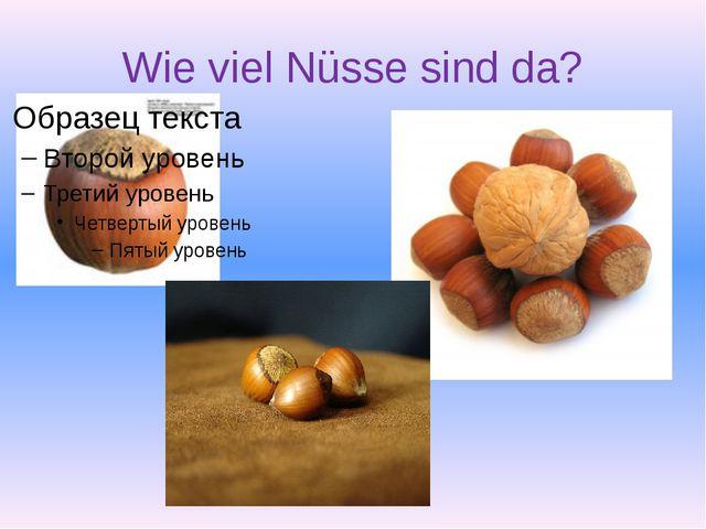 Wie viel Nüsse sind da?