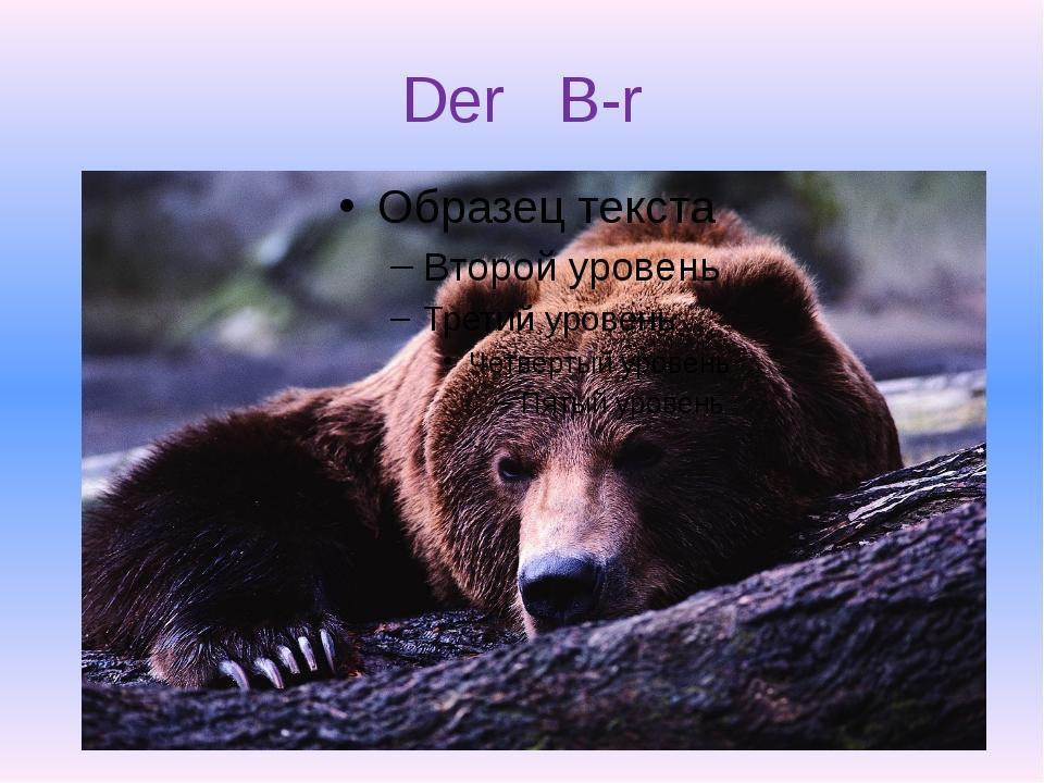 Der B-r