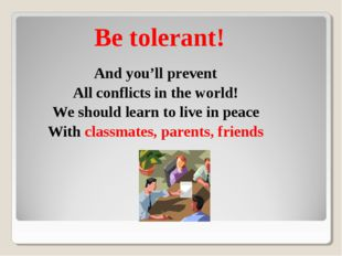 And you'll prevent