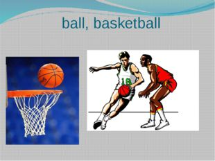 ball, basketball