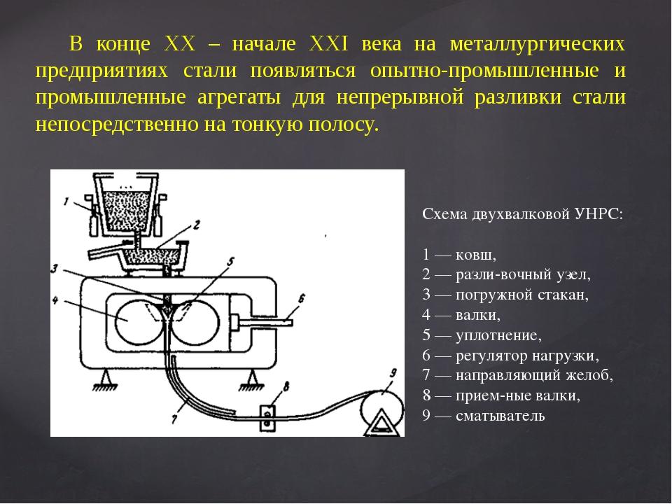 В конце ХХ – начале ХХI века на металлургических предприятиях стали появлятьс...