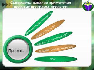 Апробация и внедрение инноваций по реализации ПО Разработка и внедрение новых