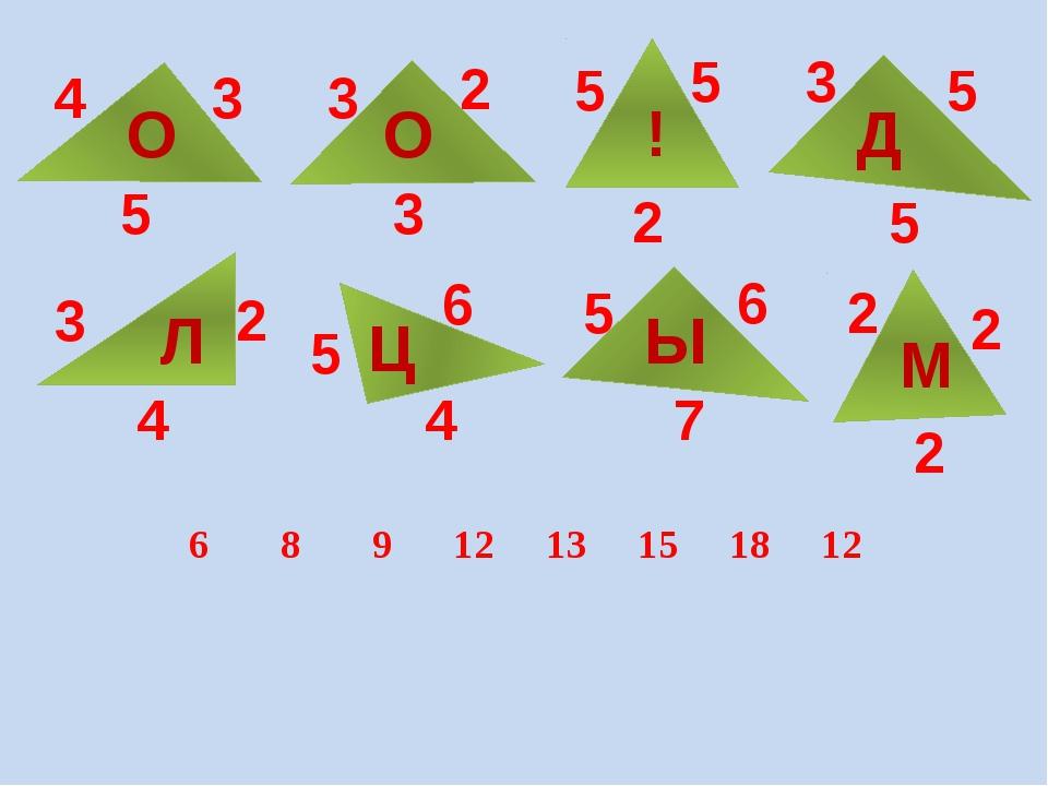 4 3 5 О 3 2 3 О 3 5 5 5 5 2 ! Д 3 2 2 2 2 5 5 4 4 6 6 7 Л Ц Ы М 6 8 9 12 13...