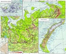 Архангельская область - карта