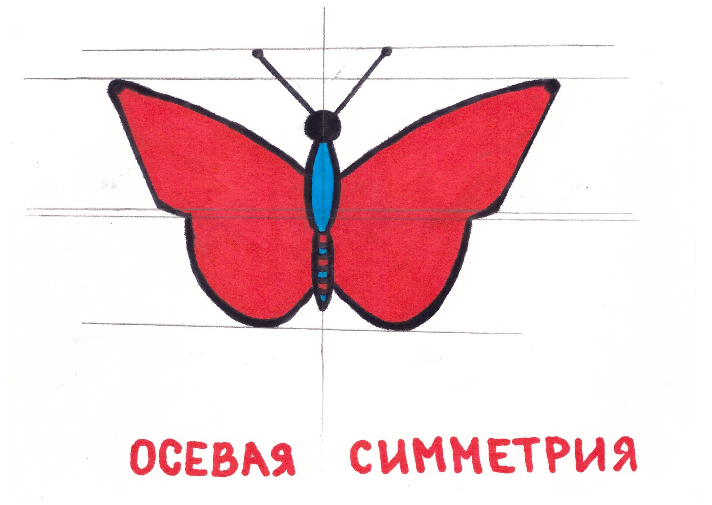 Картинки центральной осевой симметрии
