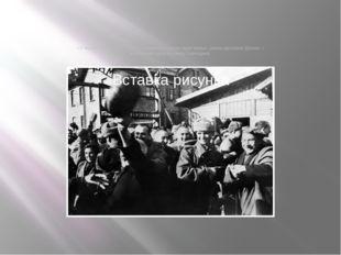 «У первого советского танка, сломавшего ворота, едва живые узники целовали бр