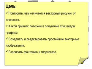 Векторная графика Работа с объектами Юдина Ольга Владимировна Учитель информа