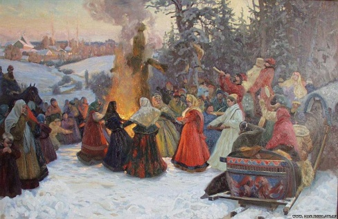 06 Kozhin Semen,Maslenica_Provody_ Rossija 17 vek Kolekcija fonda Kul'turnoe dostojanie_ Sankt-Peterburg.jpg