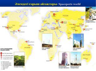 Әлемдегі ғарыш айлақтары- Spaceports world