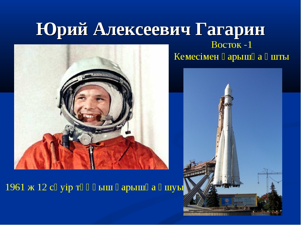 Гагарин и восток
