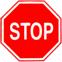 Стихи о дорожных знаках. Дорожный знак. Движение без остановки запрещено.