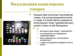 Визуализация канцелярских товаров Каждый офис использует канцелярские товары,