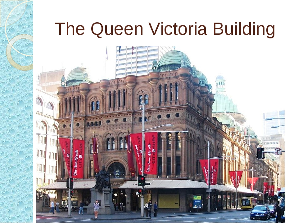 The Queen Victoria Building