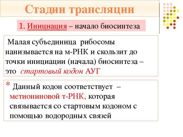 Функциональный центр рибосомы – ФЦР (два триплета) А аминокислотный центр цен...