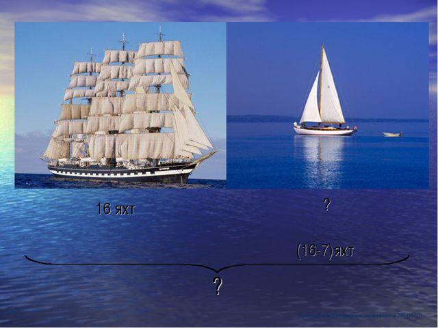 ? 16 яхт ? (16-7)яхт Крылова Елена Владимировна идентификатор 238-111-571