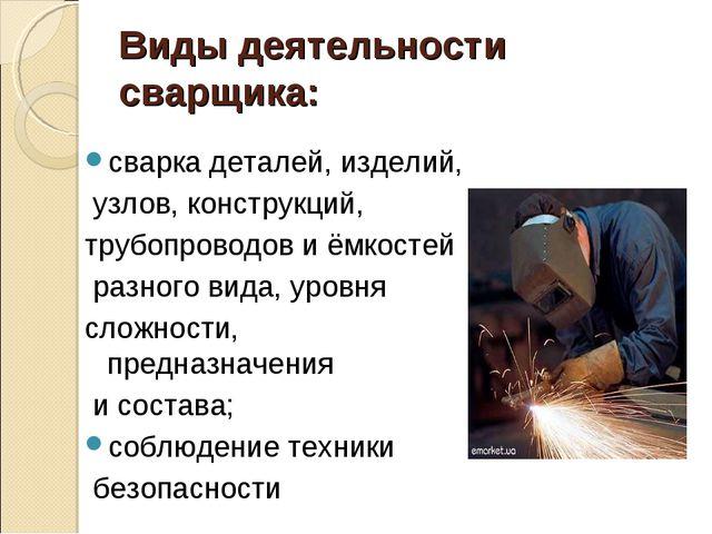Презентация Технология Производства Сварных Конструкций