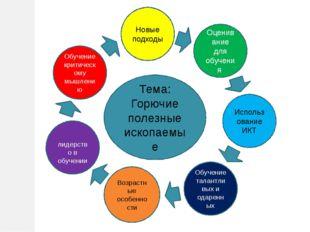 лидерство в обучении Обучение критическому мышлению Тема: Горючие полезные и
