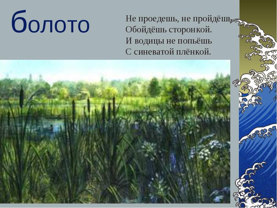 Самгина Любовь Владимировна - учитель начальных классов * болото Не проедешь,...