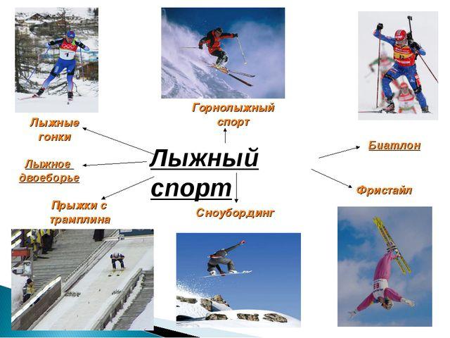 Лыжный спорт Горнолыжный спорт Лыжные гонки Прыжки с трамплина Лыжное двоебор...
