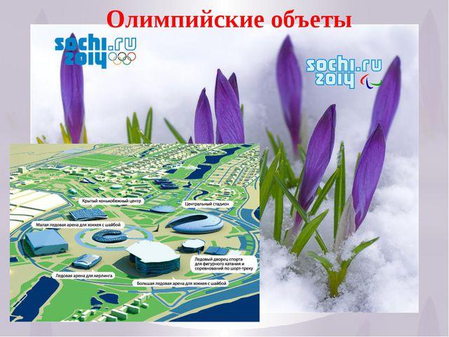 18 Олимпийские объеты