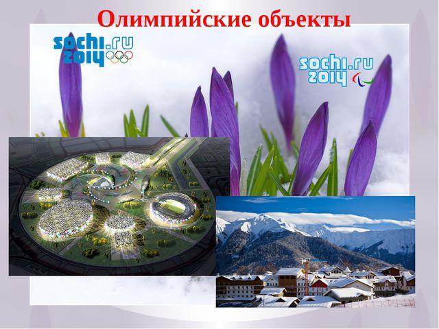 18 Олимпийские объекты
