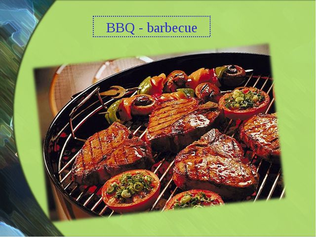 BBQ - barbecue