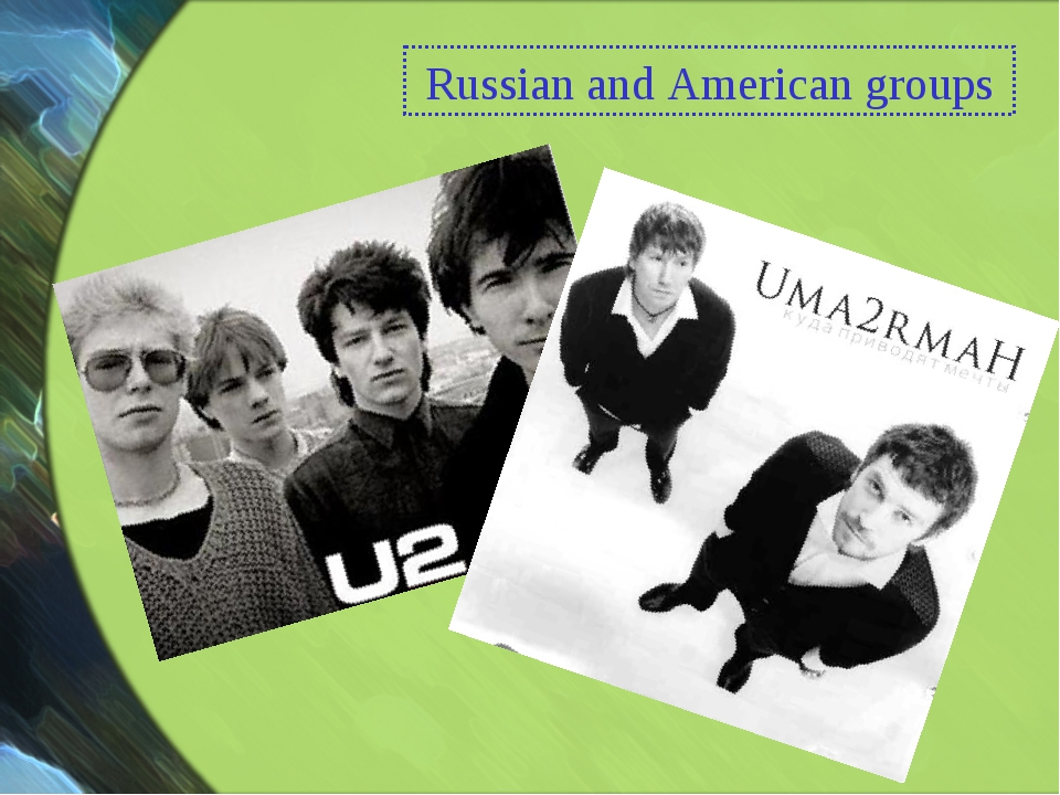 Russian and American groups