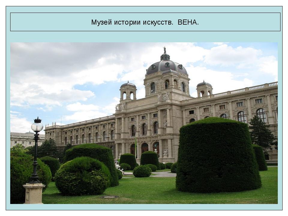 Музей истории искусств. ВЕНА.