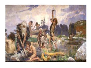 Древние люди заметили, что брошенное в землю зерно возвращает несколько зерен