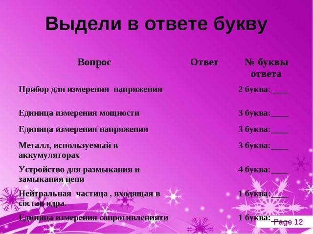 Выдели в ответе букву Powerpoint Templates Page *