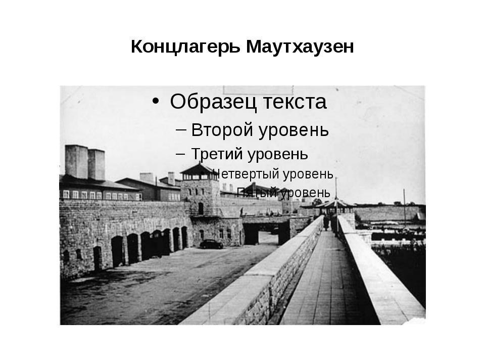 Концлагерь Маутхаузен