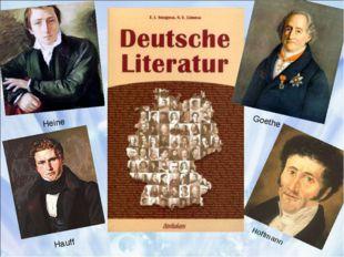 Goethe Heine Hauff Hoffmann