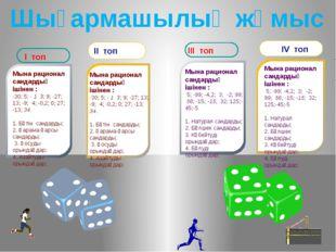 Мына рационал сандардың ішінен : -30; 5; - 1 3; 9; -27; 13; -9; 4; -0,2; 0;