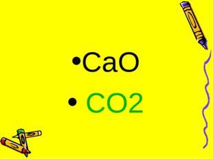 CaO CO2