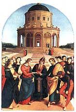 Рафаэль. Обручение Марии