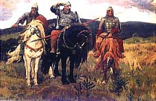 В.Васнецов. Три богатыря