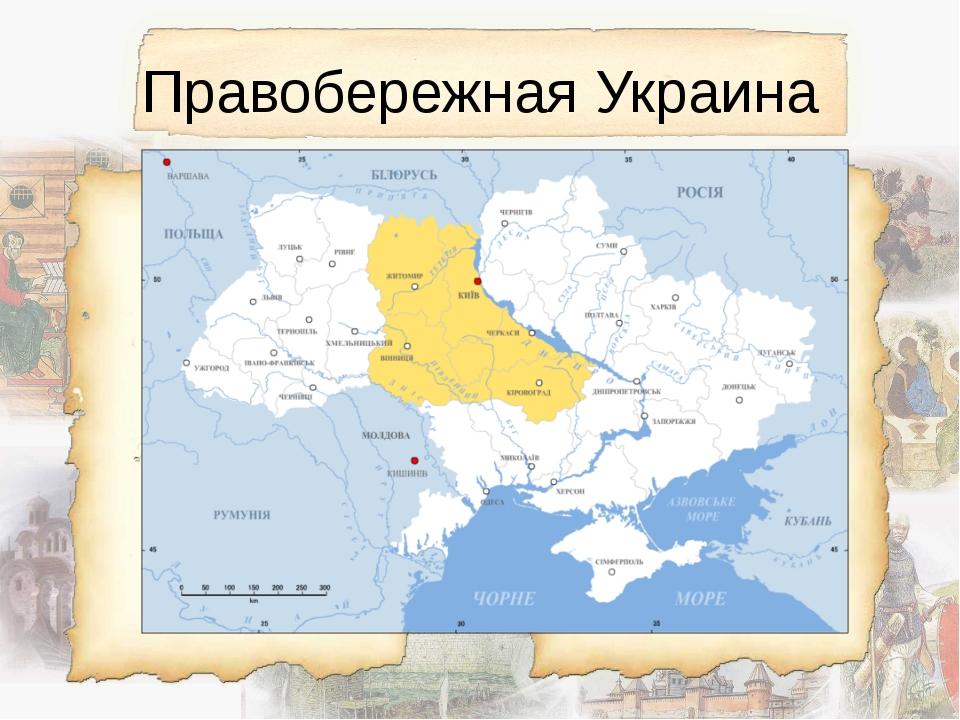 Правобережная Украина