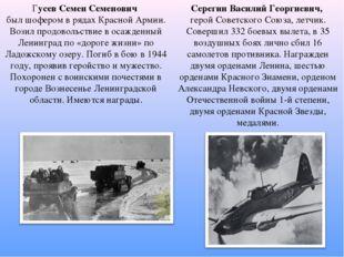 Серегин Василий Георгиевич, герой Советского Союза, летчик. Совершил 332 боев