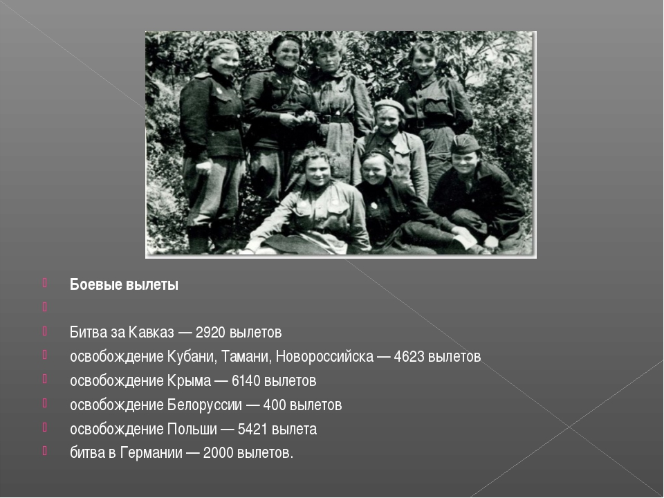 Боевые вылеты  Битва за Кавказ — 2920 вылетов освобождение Кубани, Тамани, Н...