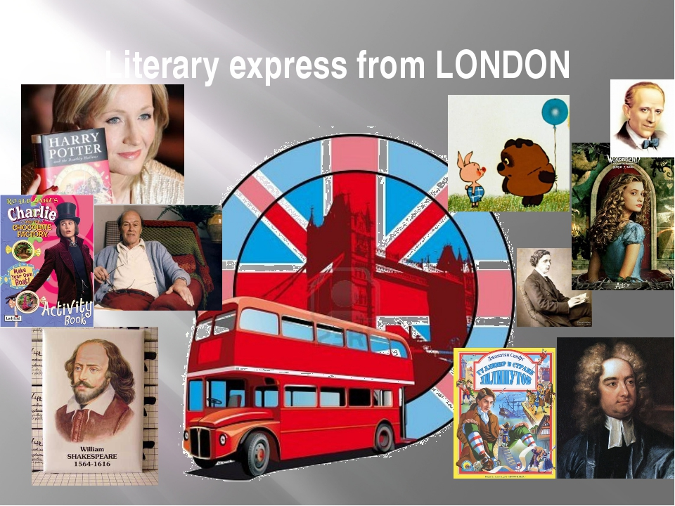 Literary express from LONDON