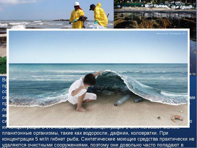 Вода в опасности! В последние столетия помимо естественного загрязнения приро...
