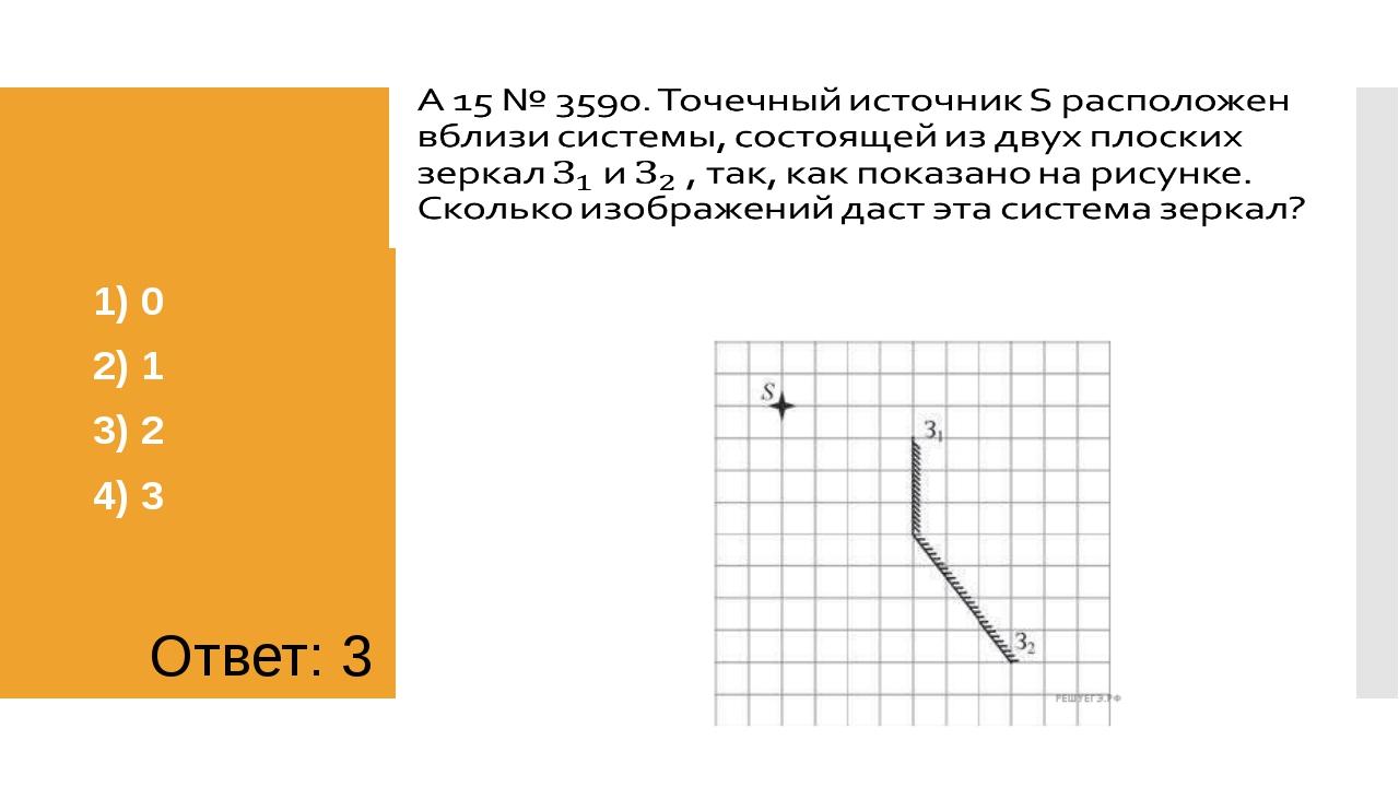 1) 0 2) 1 3) 2 4) 3 Ответ: 3