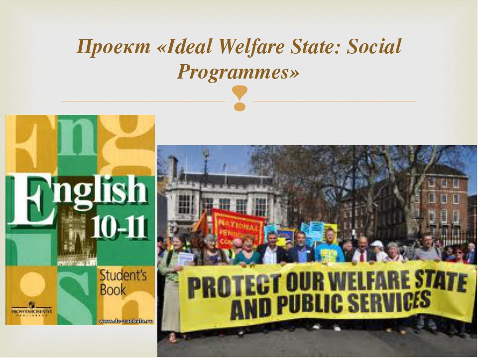 Проект «Ideal Welfare State: Social Programmes»