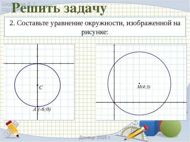 4. Найдите несоответствие геометрической иллюстрации данным задачи: Шкурихина...
