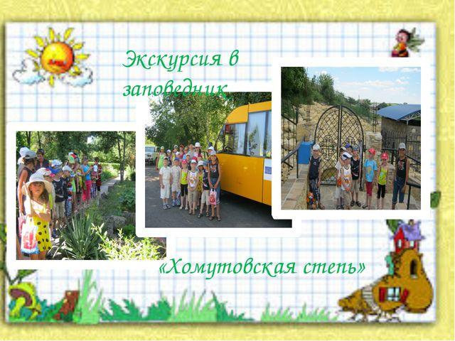 Экскурсия в заповедник «Хомутовская степь»