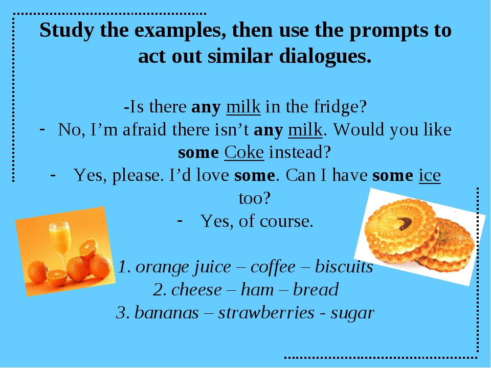 Study the examples, then use the prompts to act out similar dialogues. -Is th...